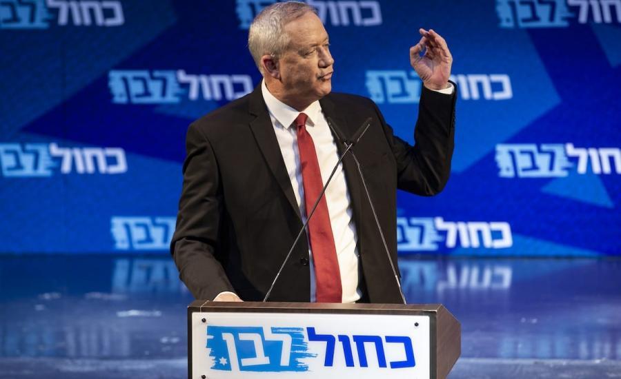 قائد الجيش الاسرائيلي غانتس