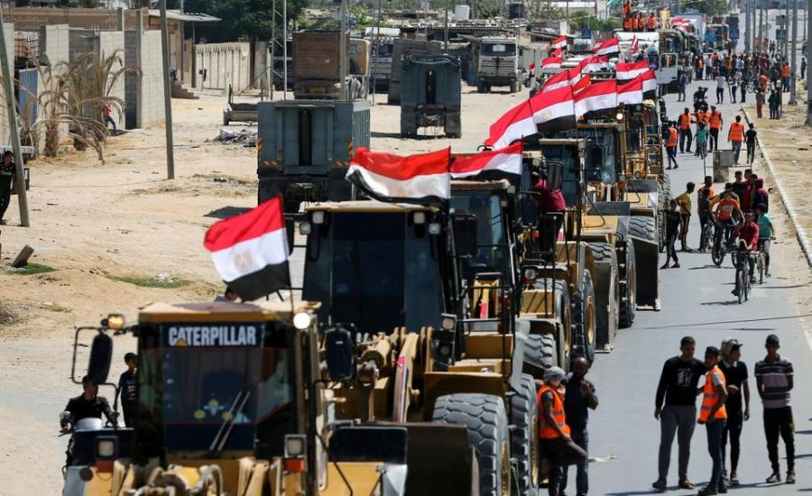 مصر واعادة اعمار قطاع غزة
