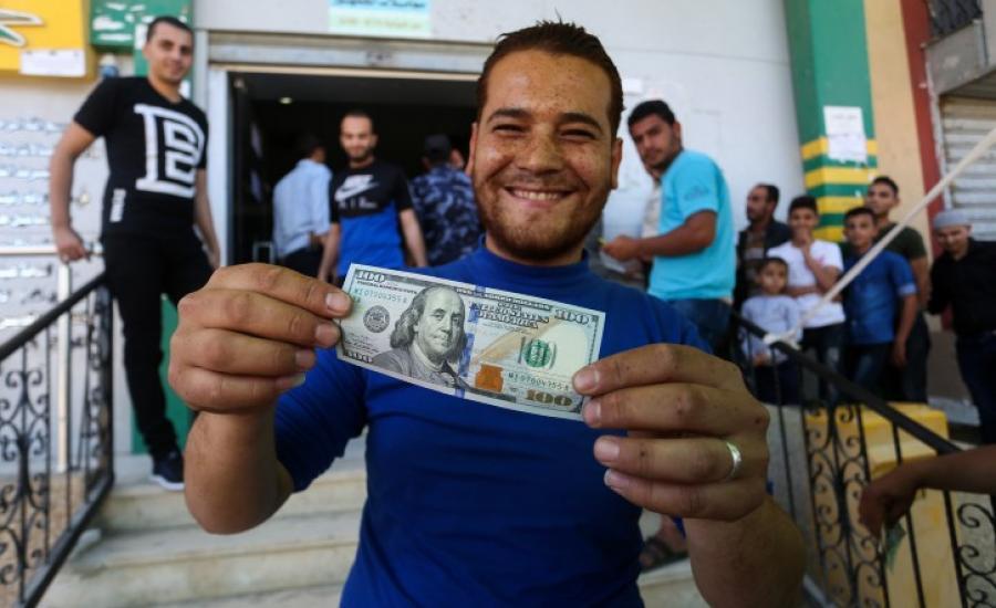 تحويل الاموال الى قطاع غزة