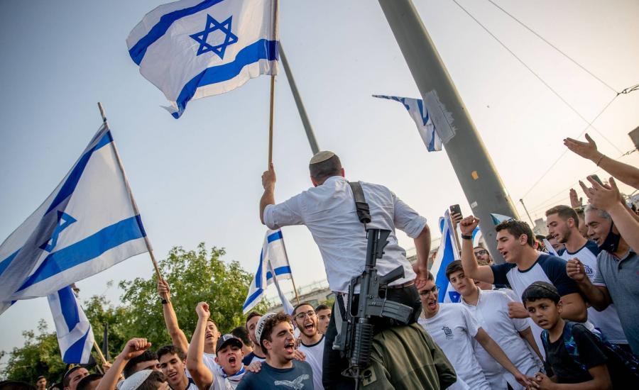 مسيرة المستوطنين في القدس