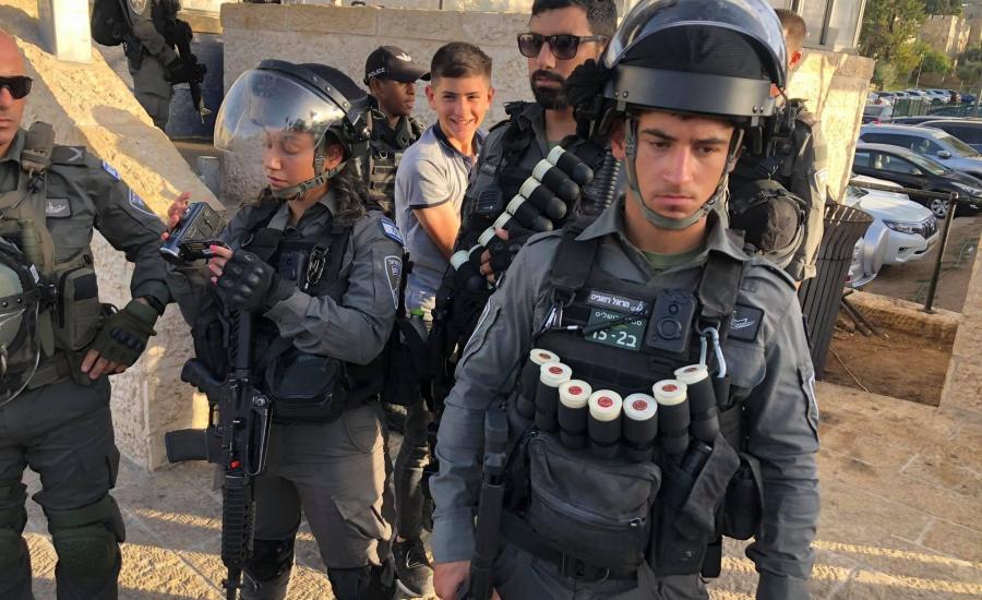 الاعتقالات في القدس