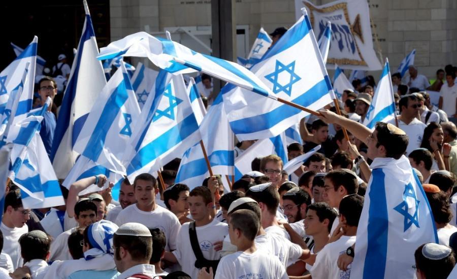 مسيرة الاعلام في القدس
