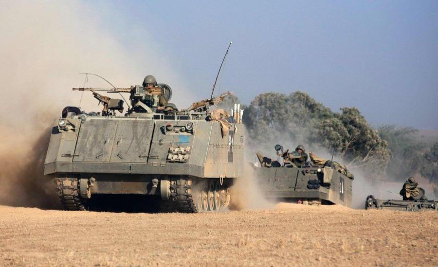الجيش الاسرائيلي والحرب على غزة