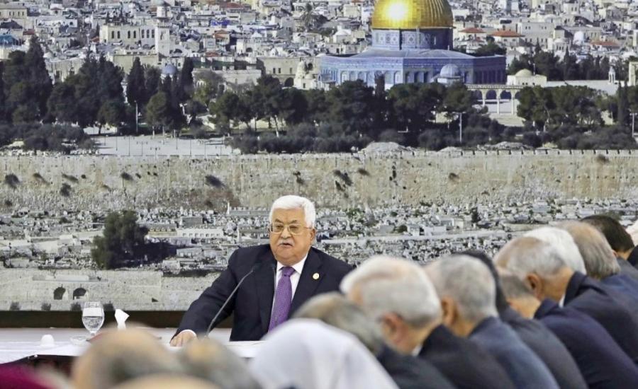 الاقيادة الفلسطينية واسرائيل