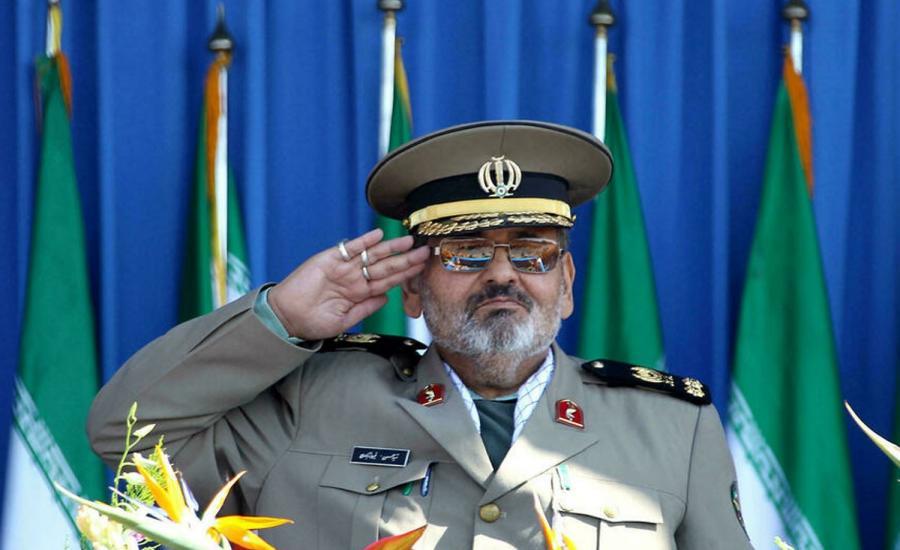 وفاة قائد الجيش الايراني