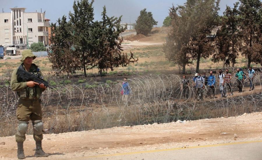 الجيش الاسرائيلي في جنين