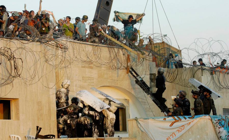 الانسحاب الاسرائيلي من غزة