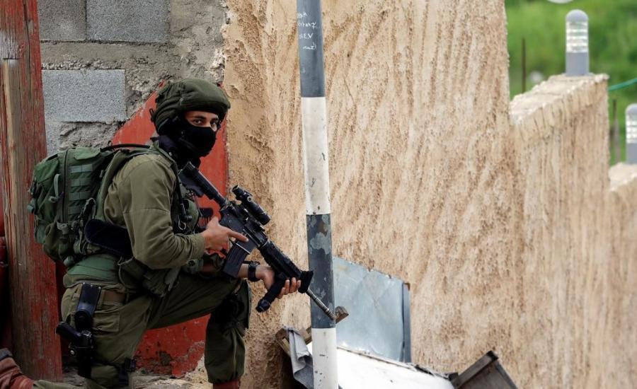 اطلاق النار  على موقع اسرائيلي