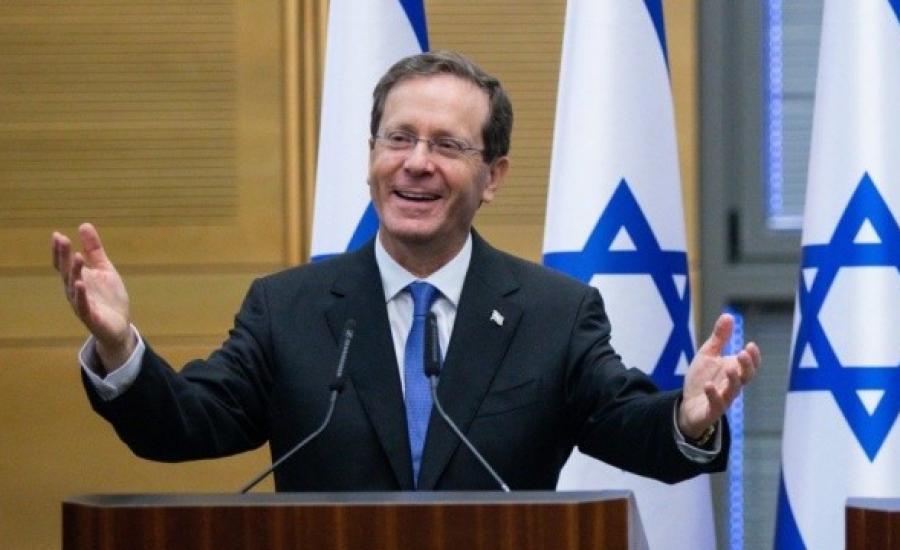 الرئيس الاسرائيلي في اوكرانيا