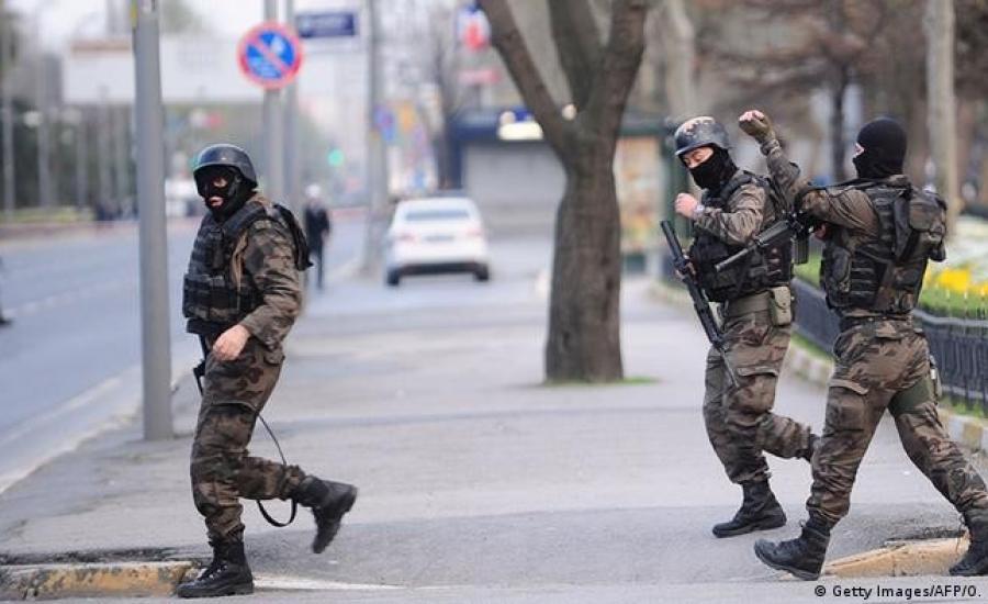 الشرطة التركية ومفقودين فلسطينيين