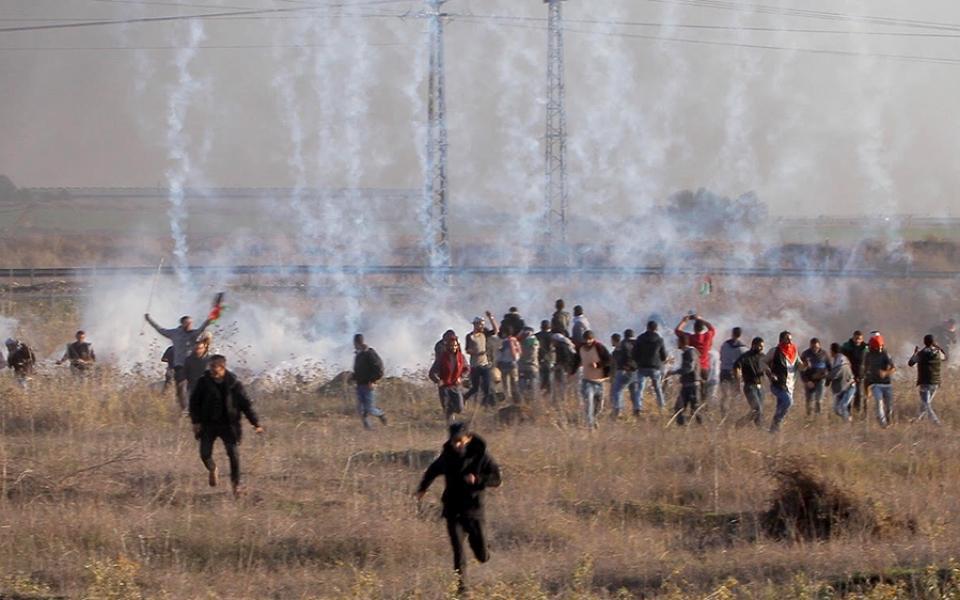 12 إصابة بمواجهات اندلعت شرق وشمال قطاع غزة اليوم - موقع رام الله الإخباري