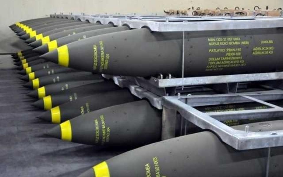 تركيا تبيع الامارات قنابل بقيمة  20.2 مليون دولار - موقع رام الله الإخباري