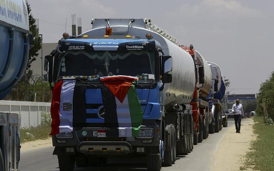 مصر تدخل وقوداً لمحطة كهرباء قطاع غزة - موقع رام الله الإخباري