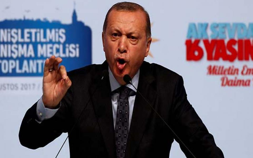 اردوغان : القدس قرة أعيننا ولن نتركها تحت رحمة دولة ارهابية تقتل الاطفال - موقع رام الله الإخباري
