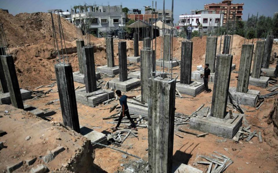 إعادة إعمار 133 مسكناً مدمراً الشهر الماضي في غزة - موقع رام الله الإخباري