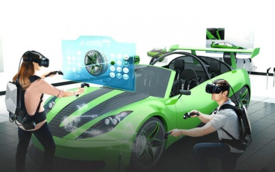 شركة  hp  تكشف عن جهاز مثير للواقع الافتراضي  شاهد   - موقع رام الله الإخباري