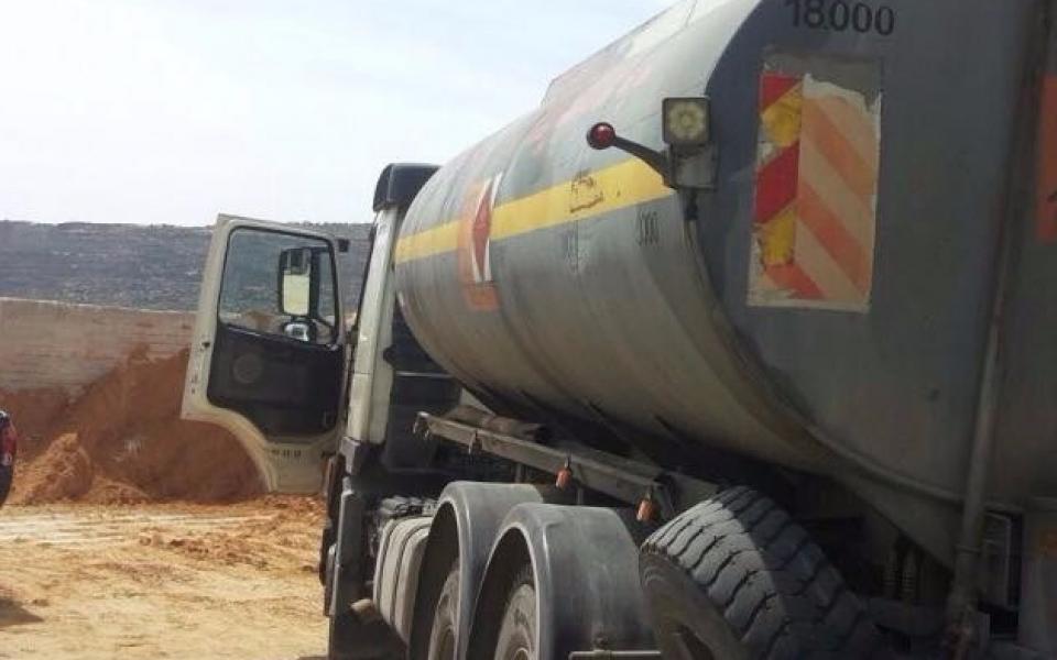 ضبط   8000   لتر من الوقود المغشوش في نابلس - موقع رام الله الإخباري