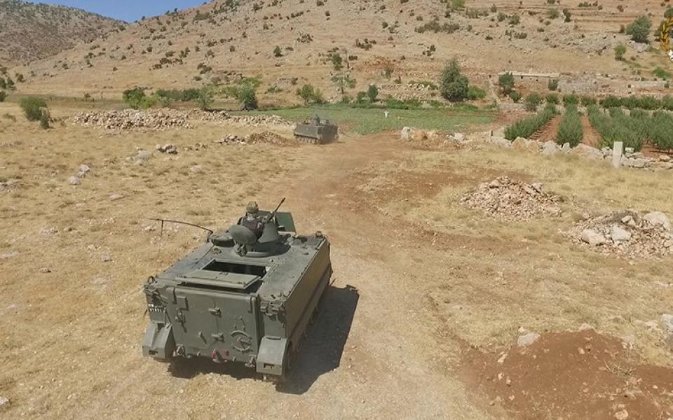 مقتل 3 جنود لبنانيين في انفجار لغم أرضي على الحدود مع سوريا - موقع رام الله الإخباري