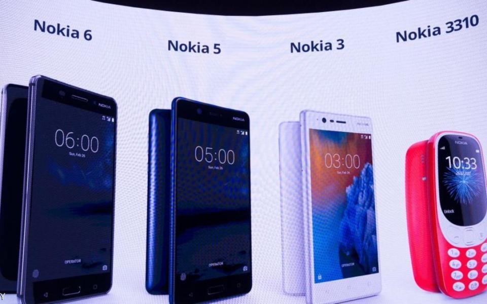 هواتف نوكيا الجديدة في 120 دولة - موقع رام الله الإخباري