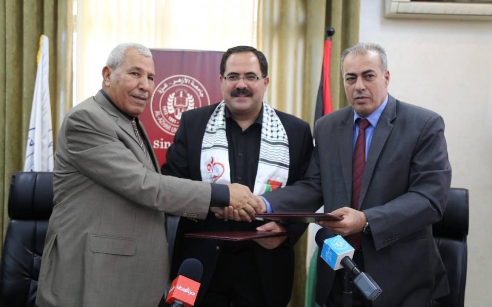 صيدم : تخصيص 1.7 مليون شيكل لدعم جامعة الأزهر - موقع رام الله الإخباري