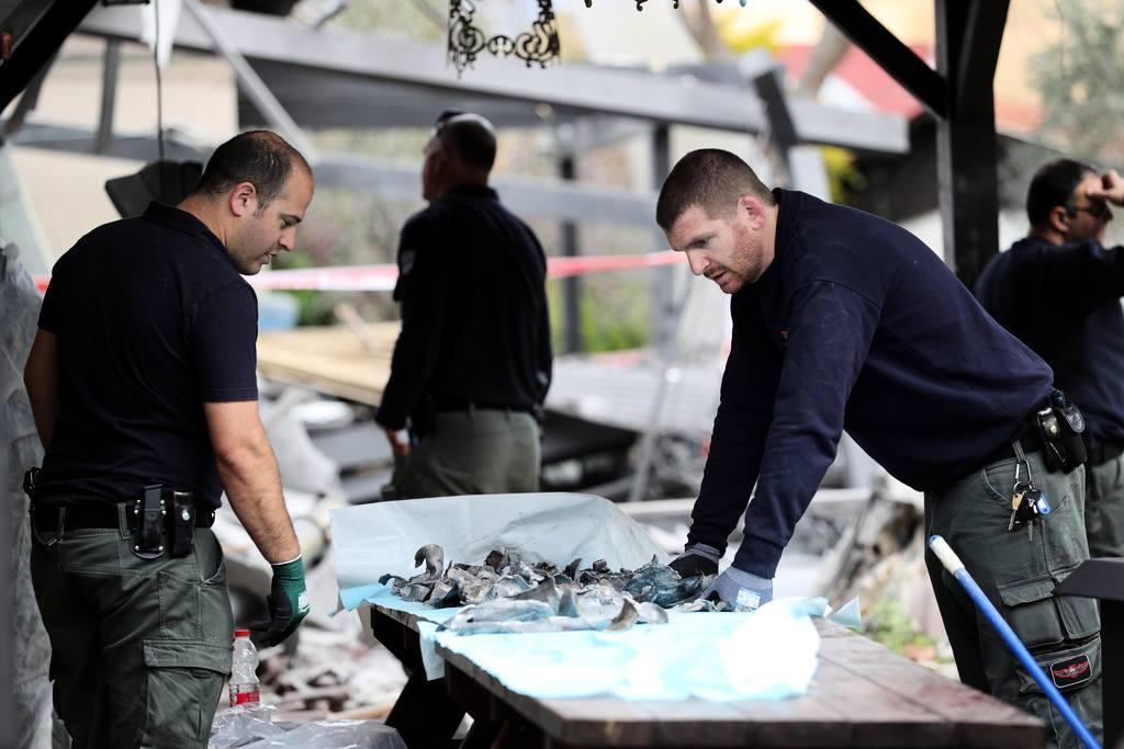 قصف على تل ابيب