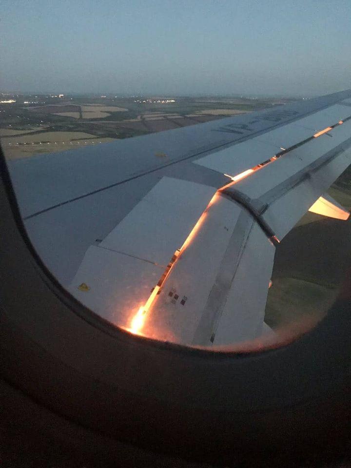عطل في طائرة المنتخب السعودي