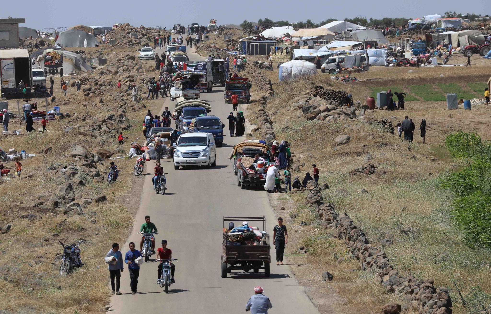 Thousands flee fighting in Syria's Daraa: UN