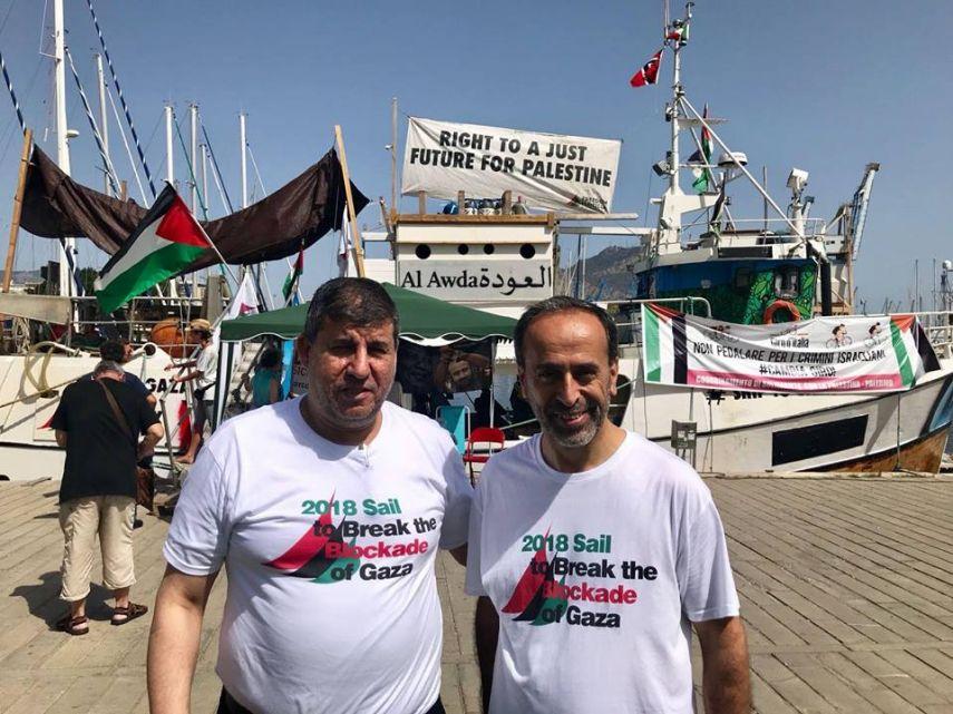 سفن كسر الحصار عن غزة