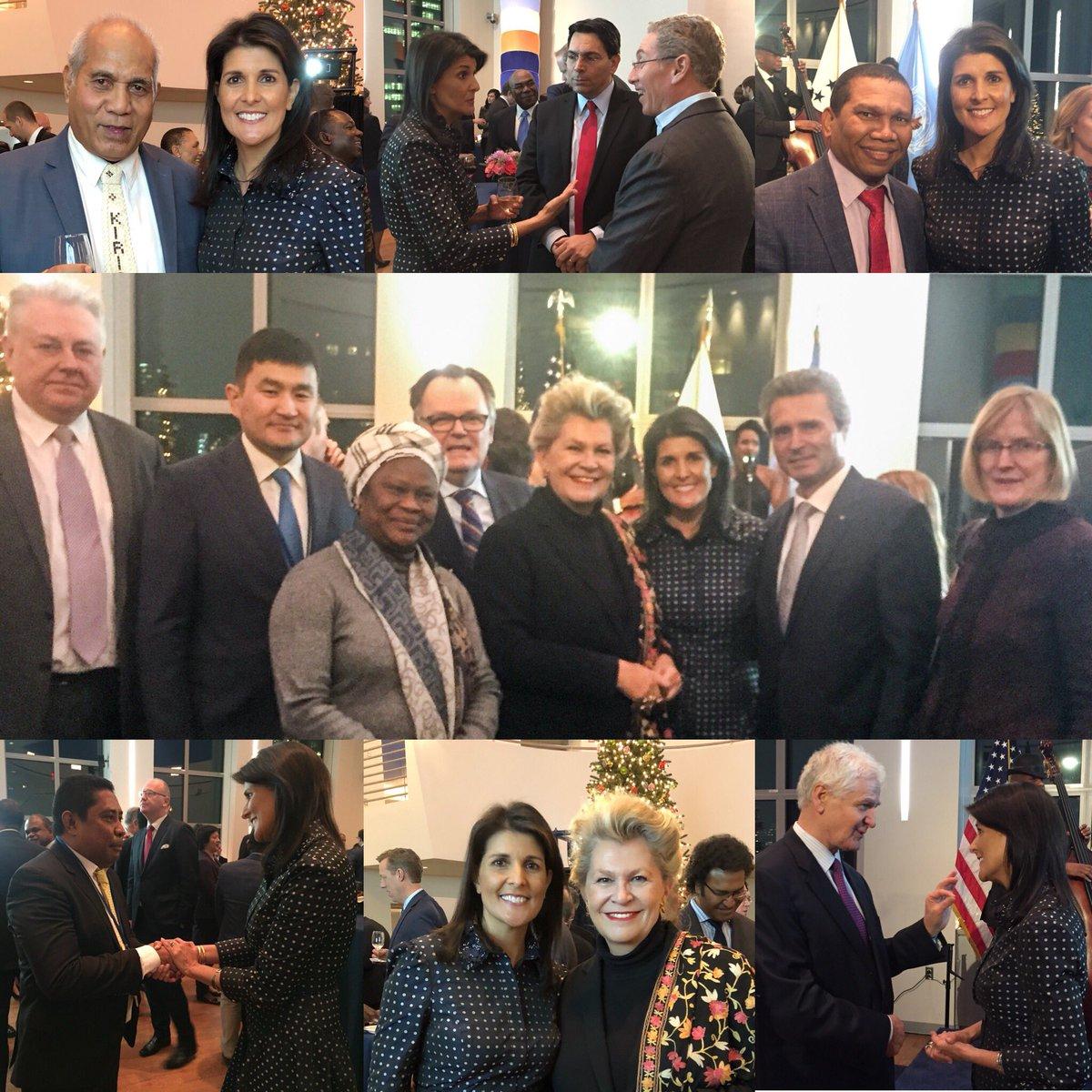 السفيرة الامريكية في الامم المتحدة