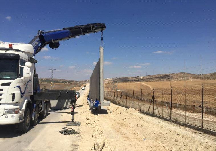 الجدار العازل بين اسرائيل ولبنان