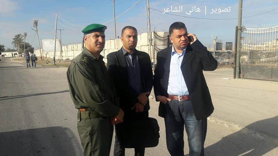 استلام الحكومة لمعابر قطاع غزة