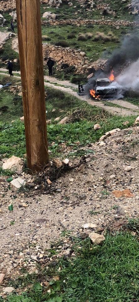 سطو مسلح على البنك الاهلي الاردني في بيت ساحور