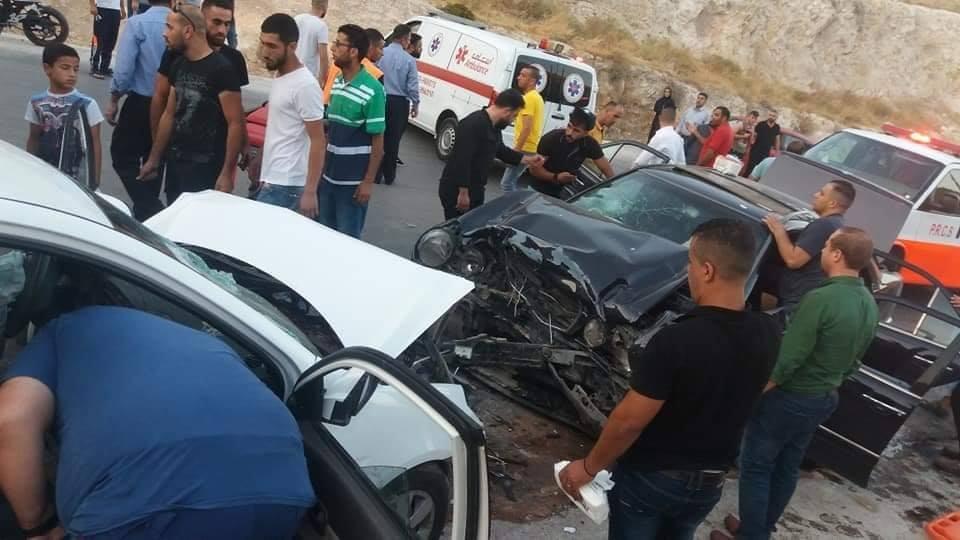 حادث سير في وادي الباذان