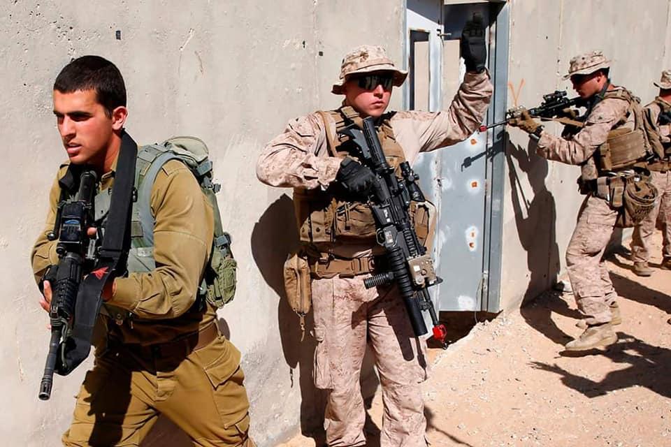 تدريبات عسكرية امريكية اسرائيلية