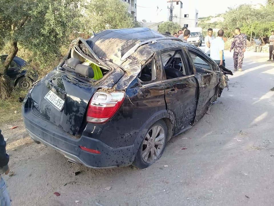 وفاة مواطن بحادث سير غرب رام الله