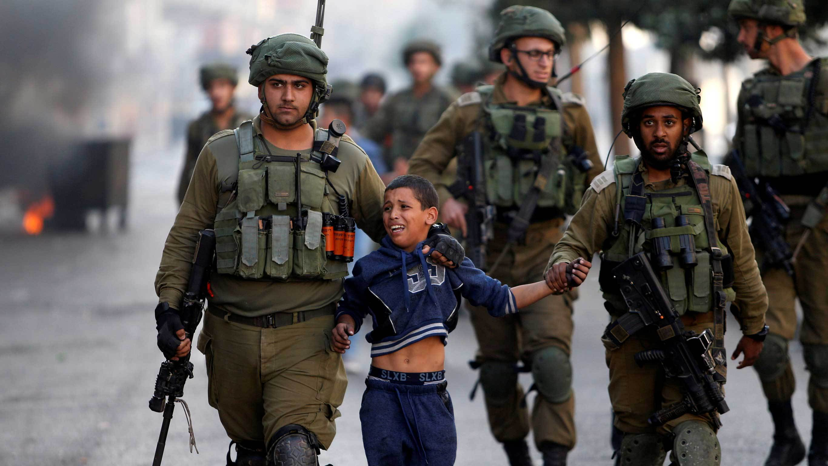 الحركة العالمية للدفاع عن الاطفال تطالب الاحتلال بالافراج عن الاسرى الاطفال  | رام الله