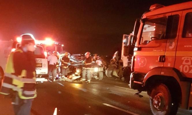 مقتل جنود اسرائيليين بحادث سير قرب طولكرم
