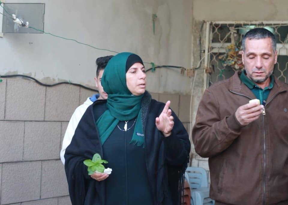 هدم منزل الشهيد عمر ابو ليلى