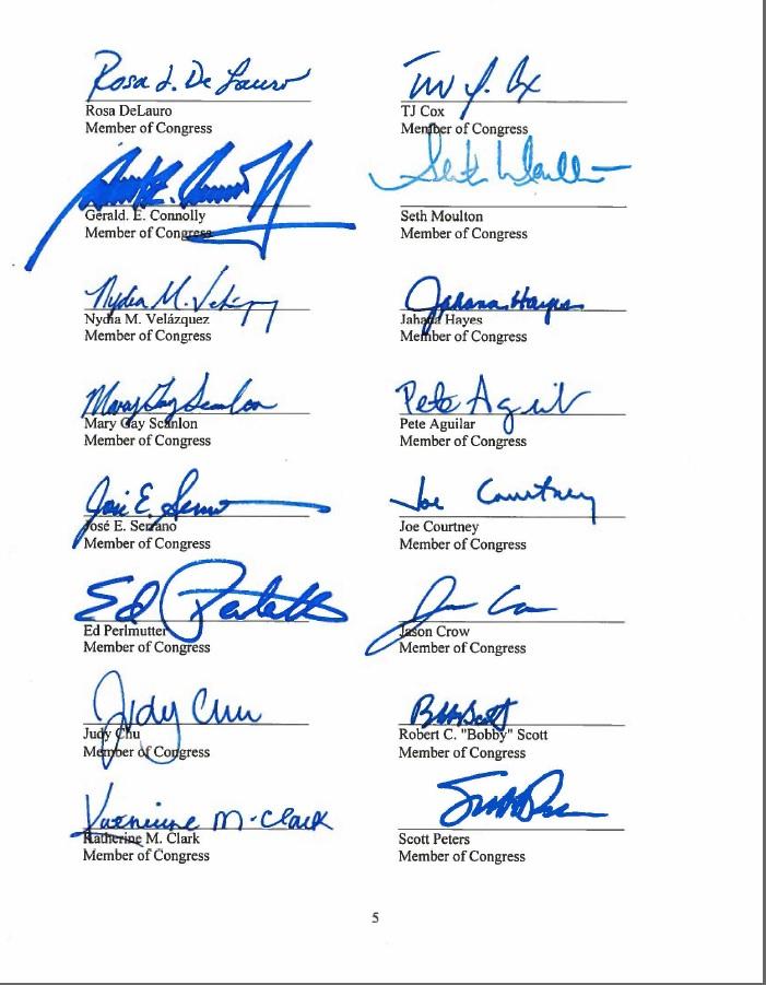 العريضة الكونغرس 2