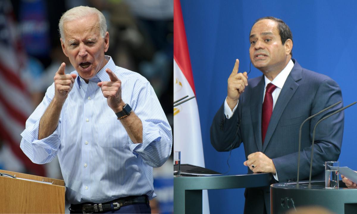 السيسي يهنئ بايدن بالفوز في الانتخابات الرئاسية الامريكية   رام الله