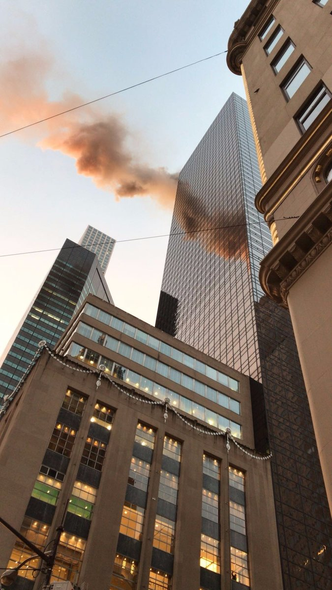 اندلاع حريق في برج ترامب
