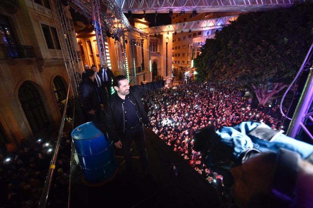 احتفالات راس السنة في بيروت