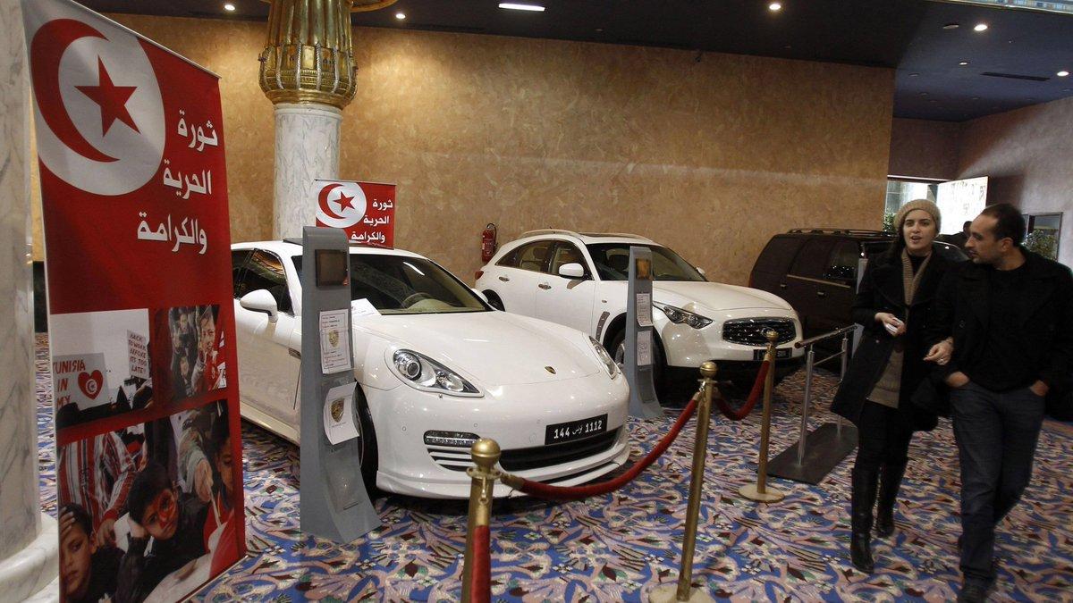 سيارات بن علي الفاخرة